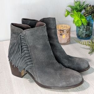 Kenneth Cole Reaction Rotini Fringe Booties #197